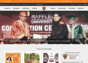 rafflesuniversity.edu.in