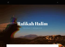 rafikahhalim.com