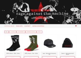 rageagainstthemachine.probitymerch.com