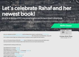 rahafbooklaunch.splashthat.com