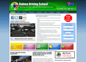 rahmadrivingschool.com.au
