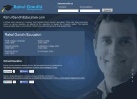 rahulgandhieducation.com