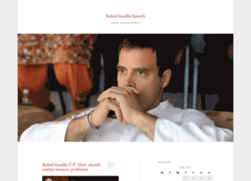 rahulgandhispeech.wordpress.com