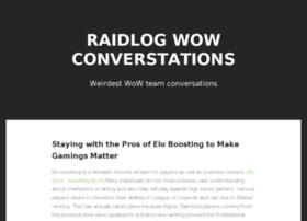 raidlogs.com