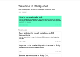 railsguides.net
