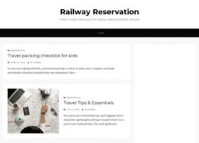 railwayreservation.net