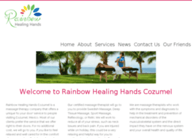 rainbowhealinghandscozumel.com