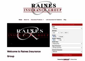 rainesinsurancegroup.com