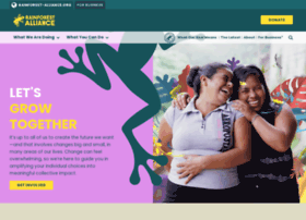 rainforestalliance.com