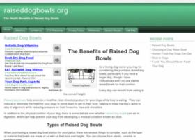 raiseddogbowls.org