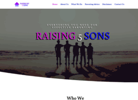 raisingmy5sons.com