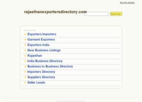 rajasthanexportersdirectory.com