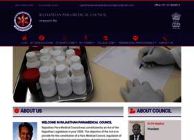 rajasthanparamedicalcouncil.org