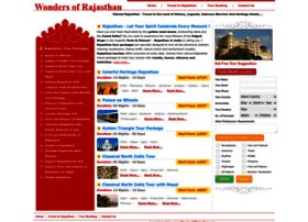 rajasthantours.wondersofrajasthan.com