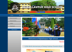 rajballavpurhighschool.com