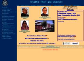 Rajeduboard.rajasthan.gov.in