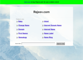 rajeev.com