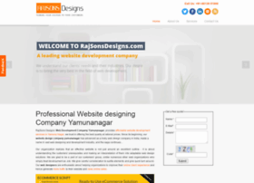 rajsonsdesigns.com