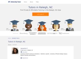 raleigh.universitytutor.com