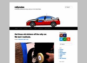 rallynotes.com