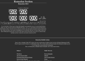 ramadan.ahadith.co.uk