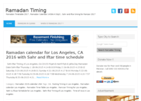 ramadantiming.com