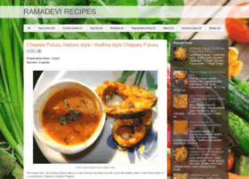 ramadevirecipes.blogspot.com
