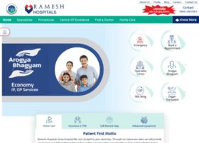 rameshhospitals.com