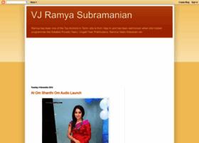 ramyavj.blogspot.in