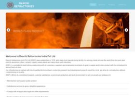 ranchirefractories.com