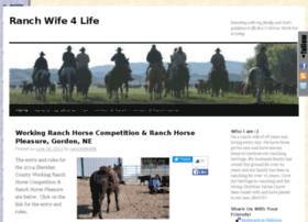 ranchwife4life.boxoquarterhorses.com