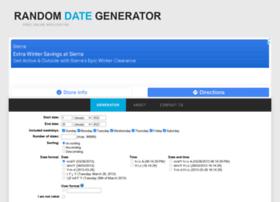random-date-generator.com