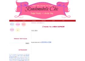 randomaholicchic.blogspot.com