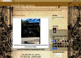 randomartnotes.blogspot.com