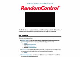 randomcontrol.com
