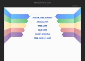 randomfont.com