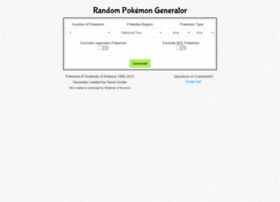 randompokemongenerator.com