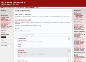 randomremarks.wordpress.com