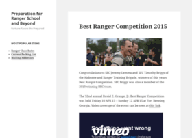 rangerschoolprep.com