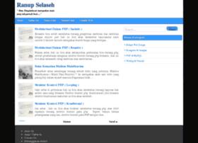 ranup-selaseh.blogspot.com
