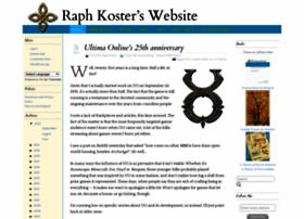 raphkoster.com