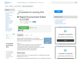 rapid-environment-editor.updatestar.com