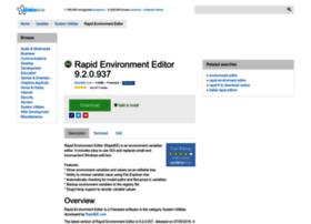 rapid-environment-editor.updatestar.com