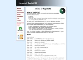 rapidcrc.sourceforge.net