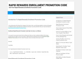 rapidrewardsenrollmentpromotioncode.org