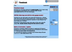rapporter.timekiosk.com