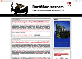 raraskovzoznam.blogspot.sk