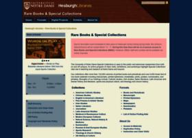 rarebooks.nd.edu