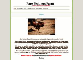 rarefeathersfarm.com