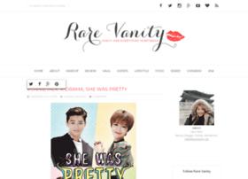 rarevanity.blogspot.com